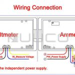 Ac Amp Meter Wiring Diagram | Manual E Books   Digital Volt Amp Meter Wiring Diagram