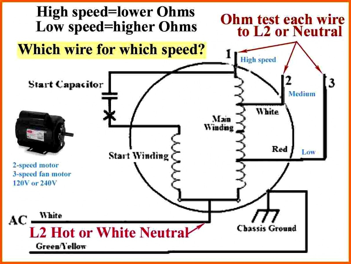 3 Speed Fan Switch Wiring Diagram