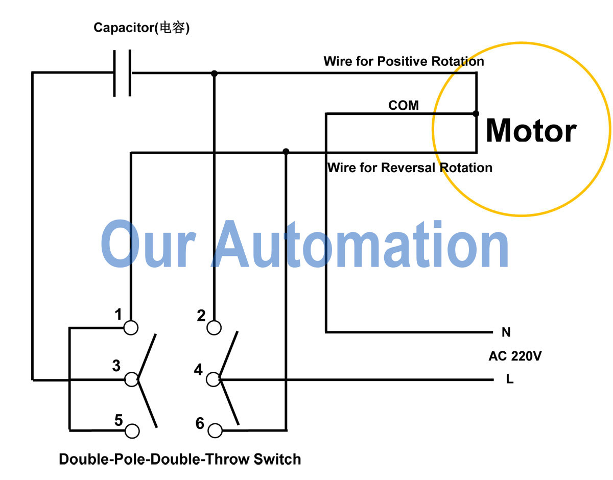 Ac Motor Reversing Switch Wiring Diagram | Wiring Diagram - Ac Motor Reversing Switch Wiring Diagram
