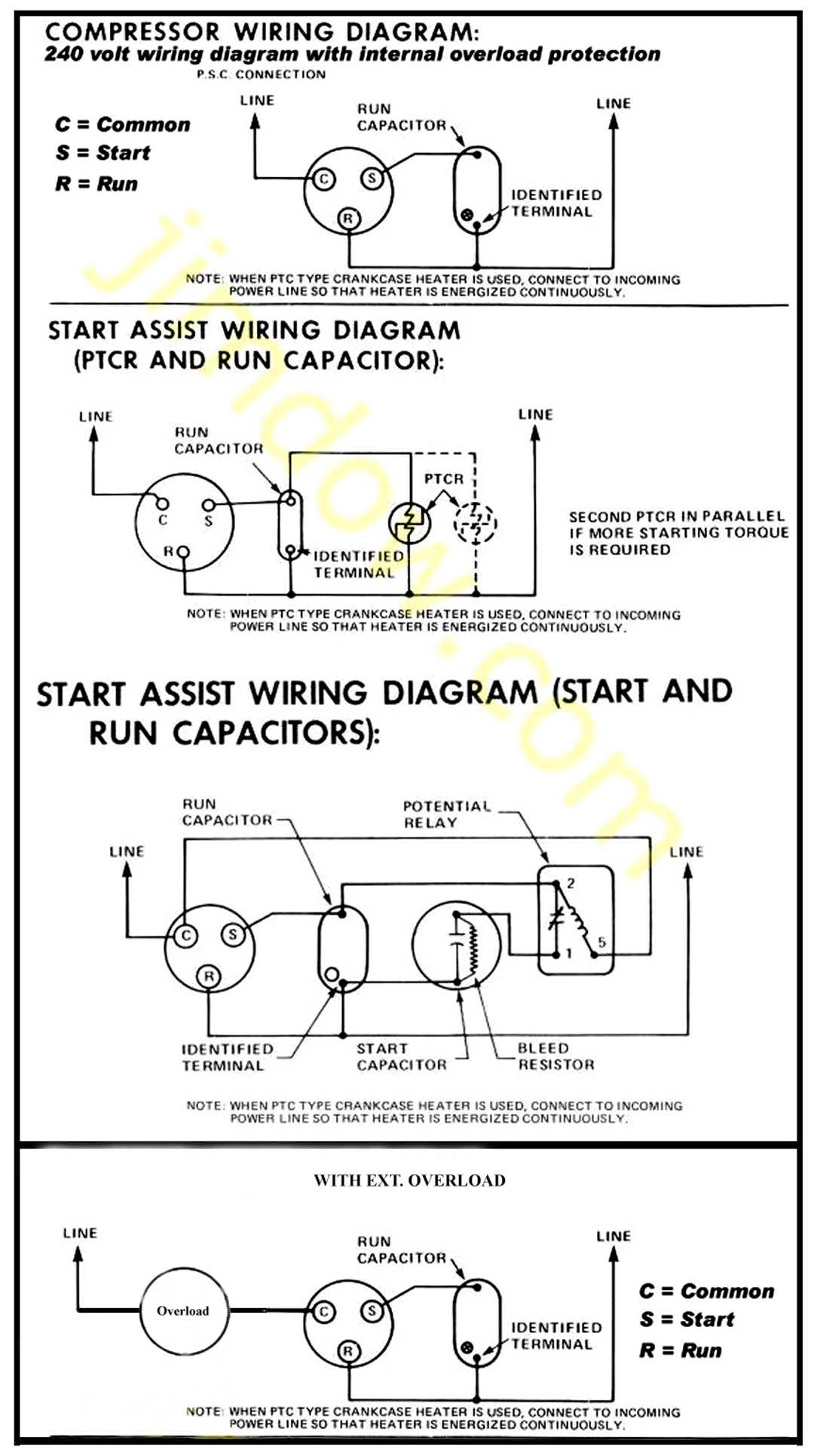 Ac Pump Wiring | Wiring Diagram - 220 Volt Air Compressor Wiring Diagram
