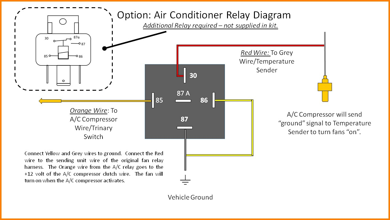 Ac Relay Switch Wiring | Wiring Diagram - Central A C Wiring Diagram