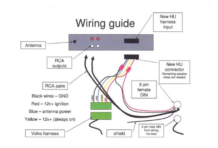Stereo Headphone Jack Wiring Diagram