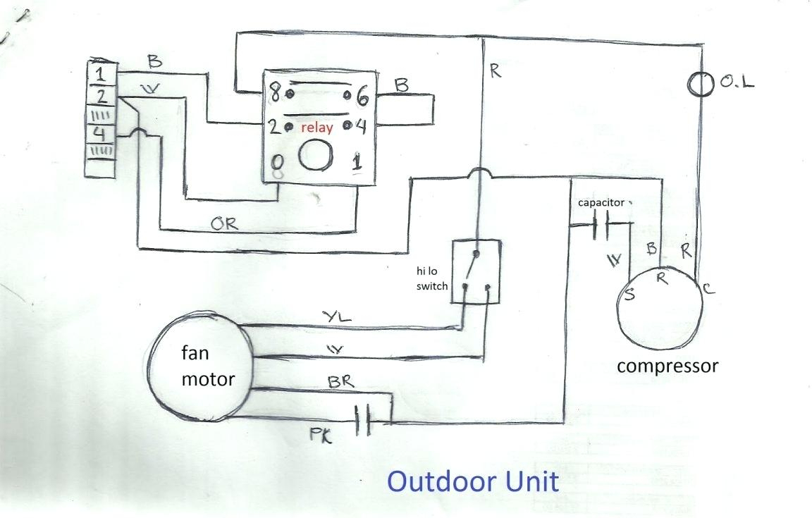 Air Conditioner Wiring Diagram Pdf - Hbphelp - Air Conditioner Wiring Diagram Pdf