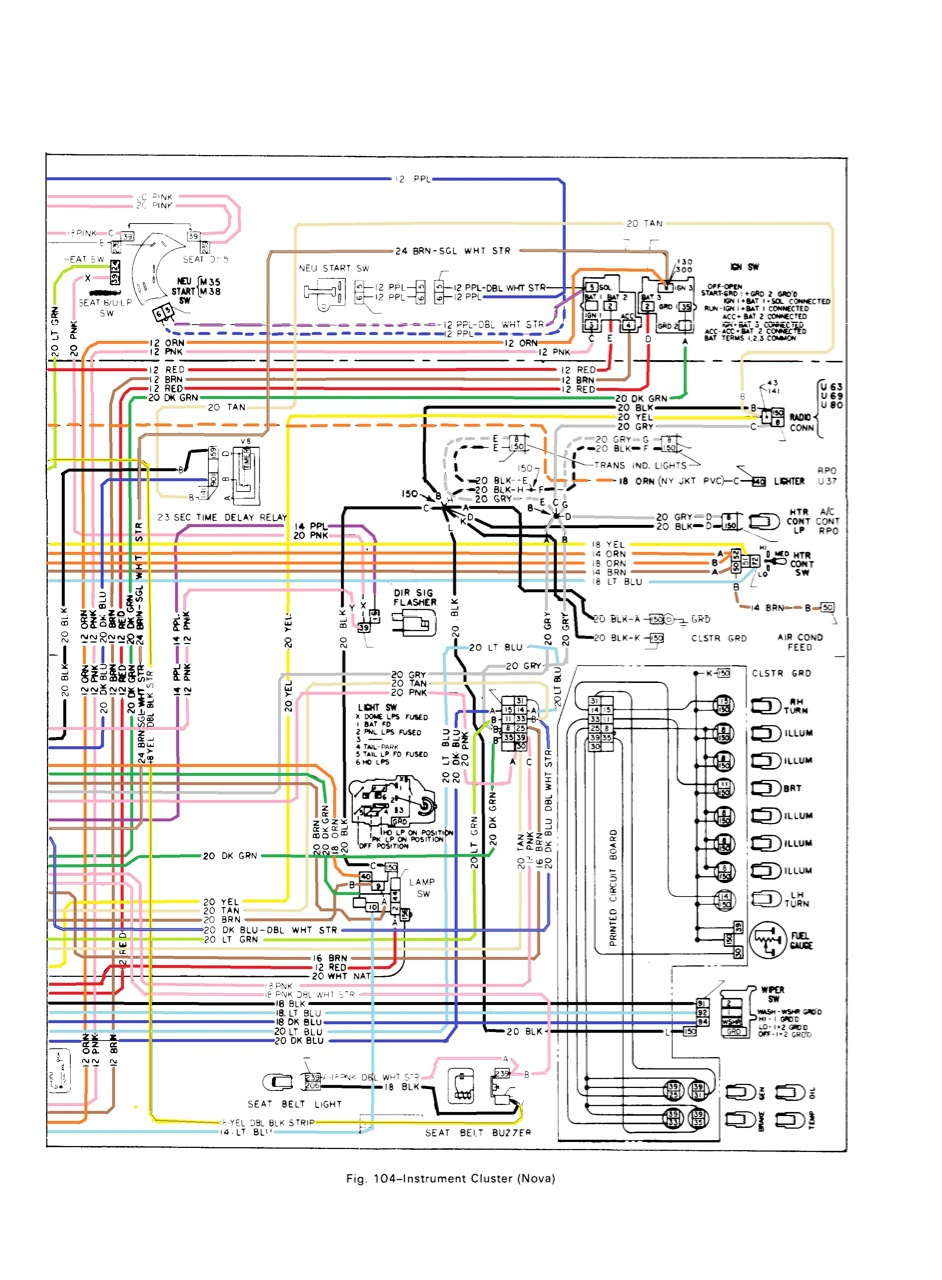 All Generation Wiring Schematics - Chevy Nova Forum - 1972 Chevy Truck Wiring Diagram