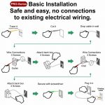 All Time Best Wall Mount Wire Hider ~ Powerbridge ~ Model Two Pro 6   6 Way Plug Wiring Diagram