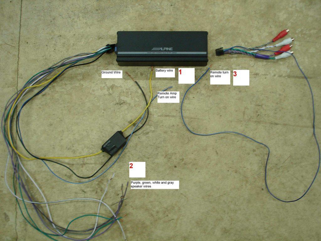 Alpine Cva 1000 Wiring Diagrams