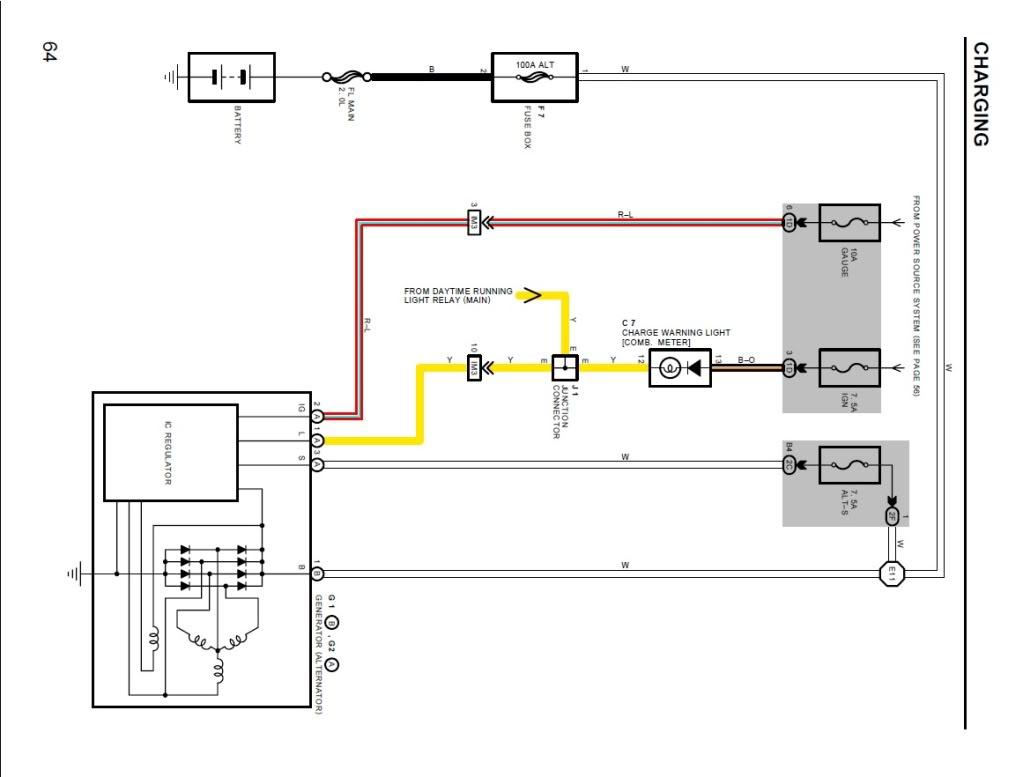 Alternator Wiring Diagram - Clublexus - Lexus Forum Discussion - Alternator Wiring Diagram