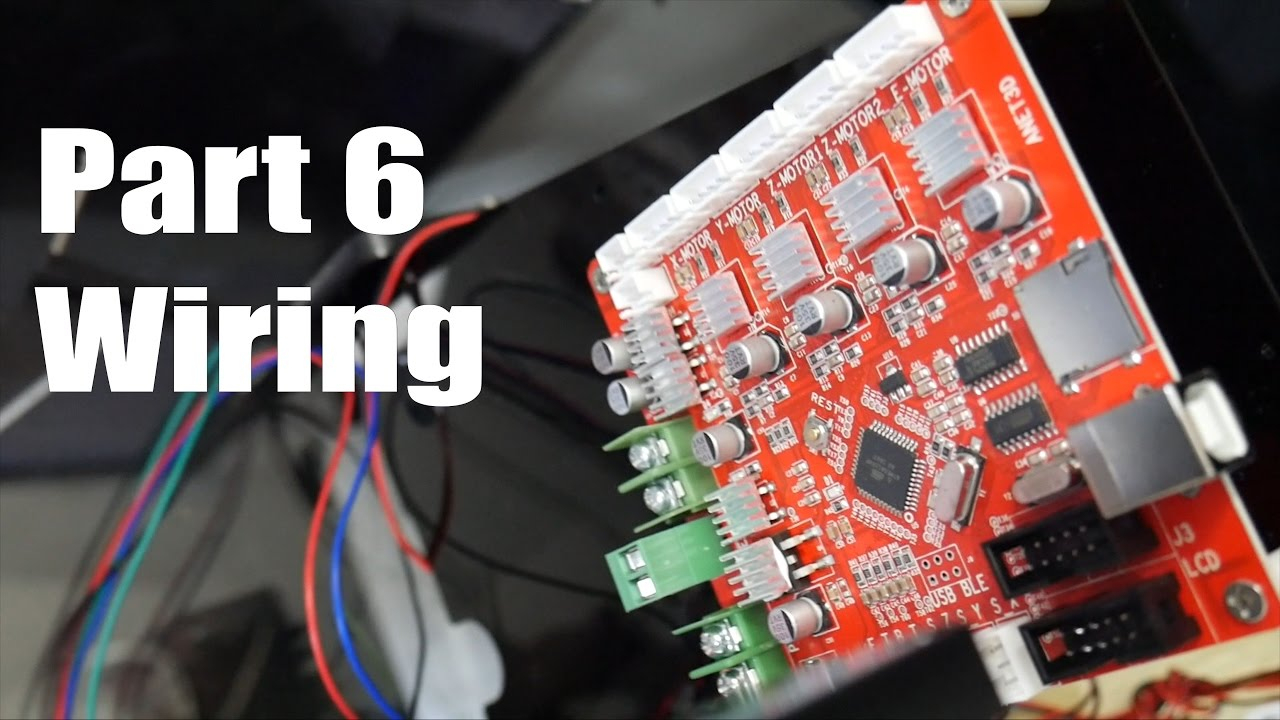 Anet A8 3D Printer Build Guide Part 6 Wiring - Youtube - Anet A8 Wiring Diagram