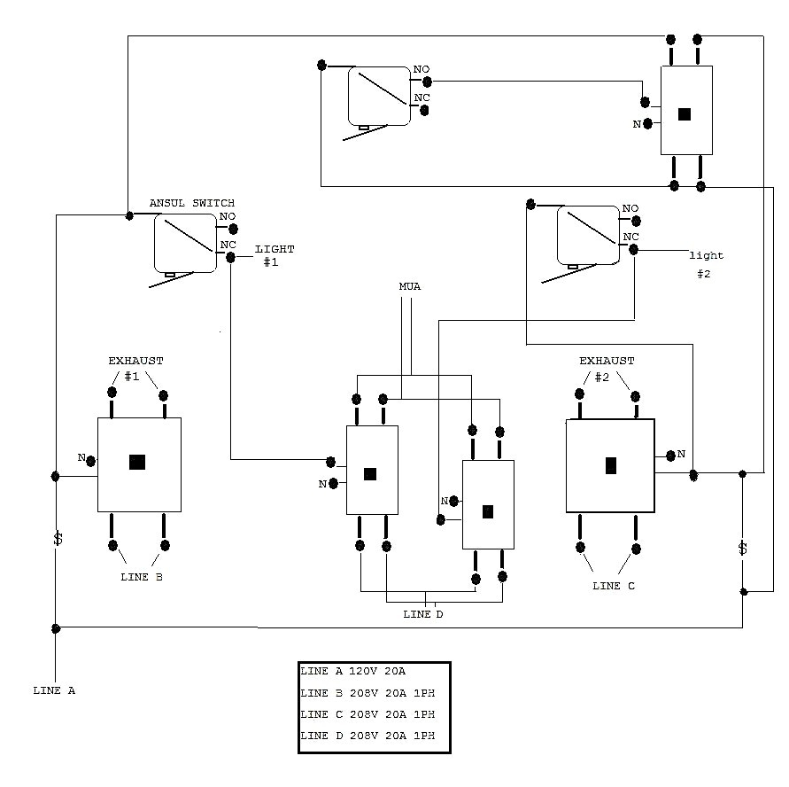 Ansul System Typical Wiring Diagram | Wiring Diagram - Ansul System Wiring Diagram