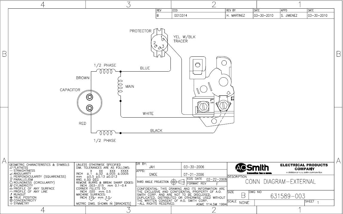 DIAGRAM] Ao Smith Motor Diagrams FULL Version HD Quality Motor ...