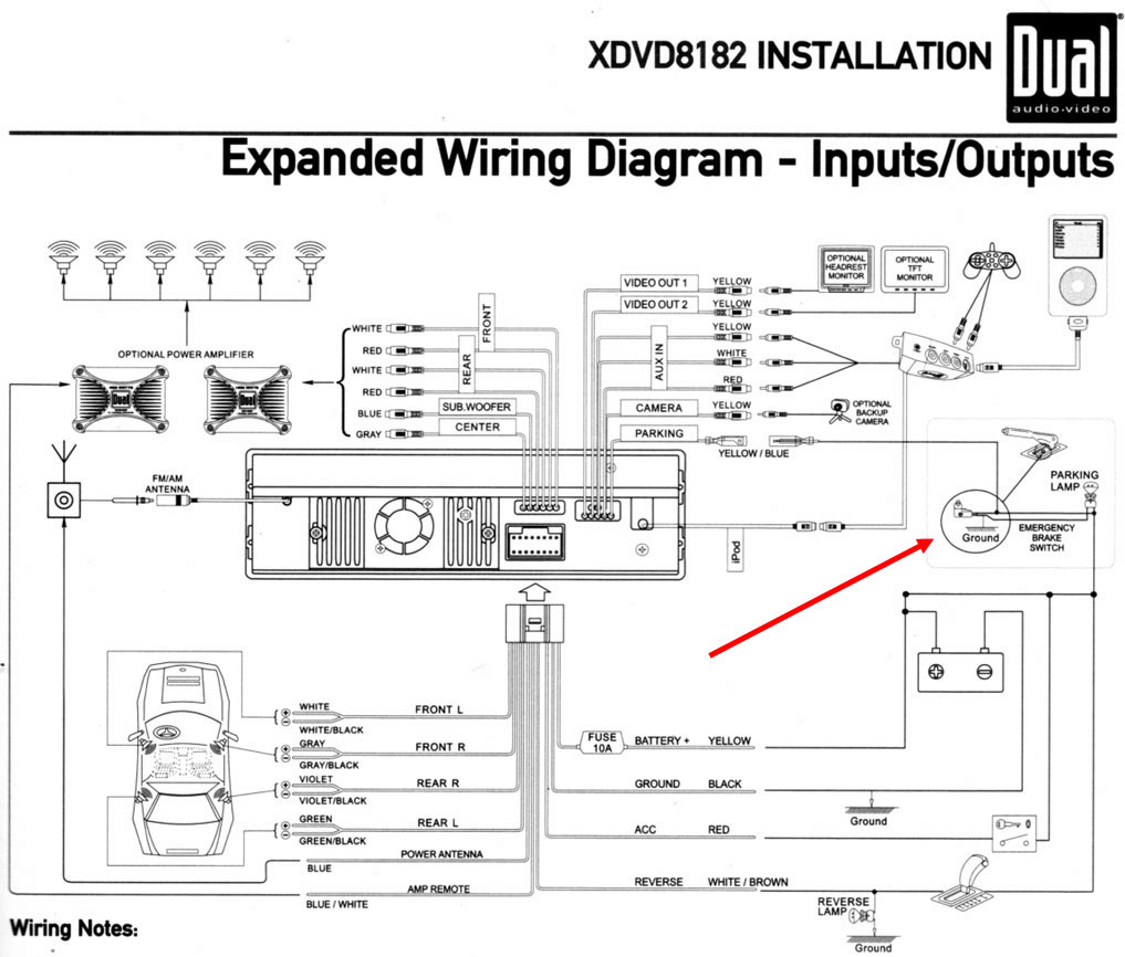 Audio Wire Diagram - Wiring Diagram Data Oreo - Stereo Wiring Diagram