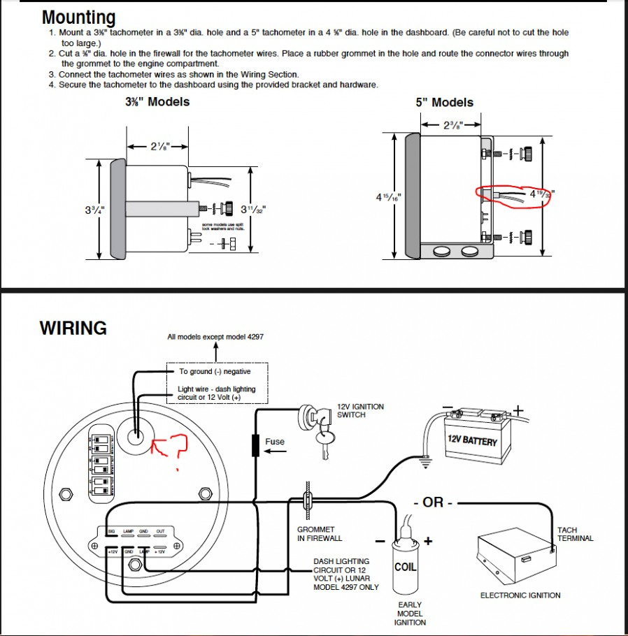 Autometer Rpm Wiring Diagram | Wiring Diagram - Autometer Tach Wiring Diagram
