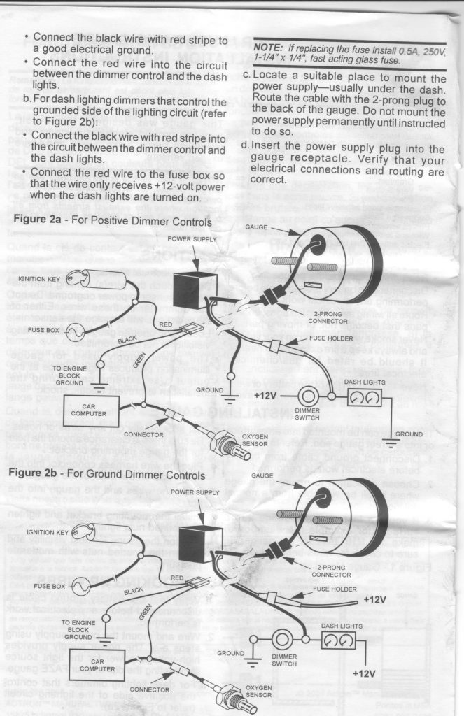 Autometer Voltmeter Wiring Diagram Perfect Modern Voltmeter Gauge