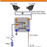 Automotive Relay Wiring Diagram Horn   Manual E Books   Car Horn Wiring Diagram