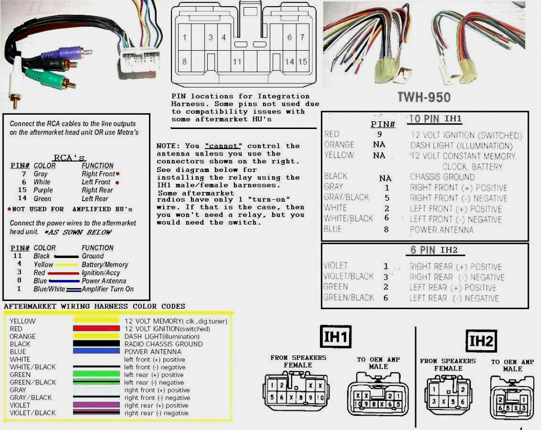 Avh P1400Dvd Pioneer Wiring Harness | Manual E-Books - Pioneer Avh P1400Dvd Wiring Diagram