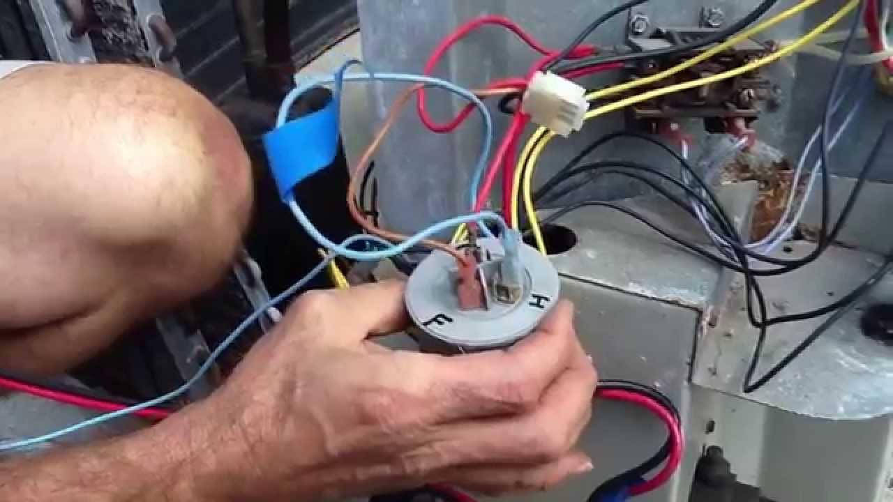 Basic Compressor Wiring - Youtube - Ac Capacitor Wiring Diagram