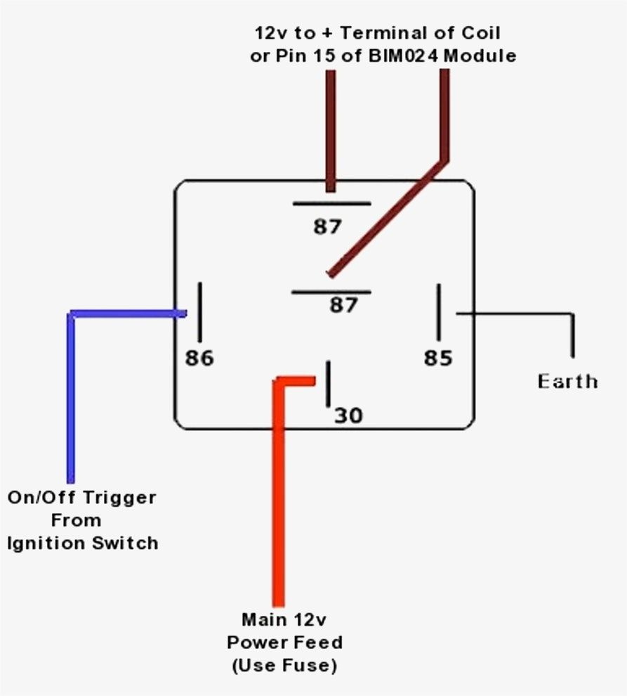 Bosch 5 Pin Relay Wiring Diagram - Allove