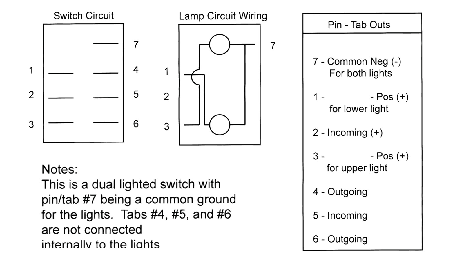Boat Rocker Switch Wiring Diagram | Wiring Diagram - 4 Pin Rocker Switch Wiring Diagram
