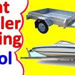 Boat Trailer Wiring Diagram 4 Pin   Youtube   Boat Trailer Wiring Diagram