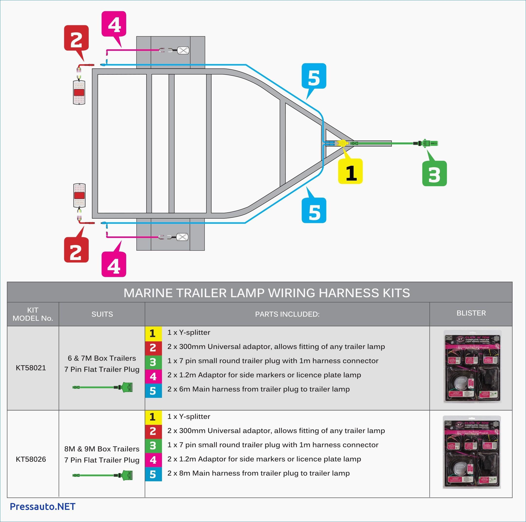 Boat Trailer Wiring Diagram Best 4 Round Trailer Wiring Diagram - 4 Pin Trailer Plug Wiring Diagram