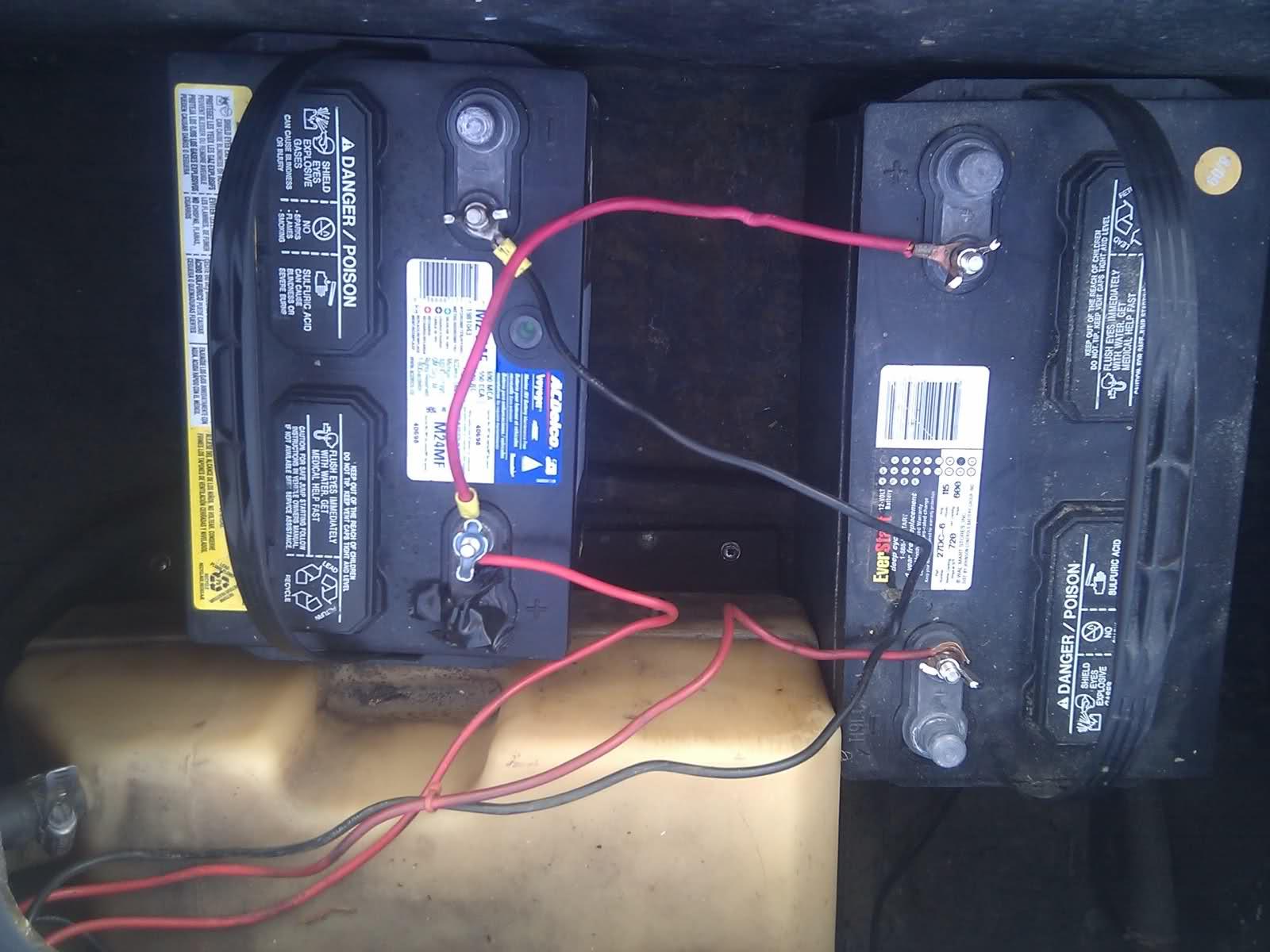 Boat Trolling Motor 24V Battery Wiring Diagram | Wiring Library - 24 Volt Trolling Motor Battery Wiring Diagram