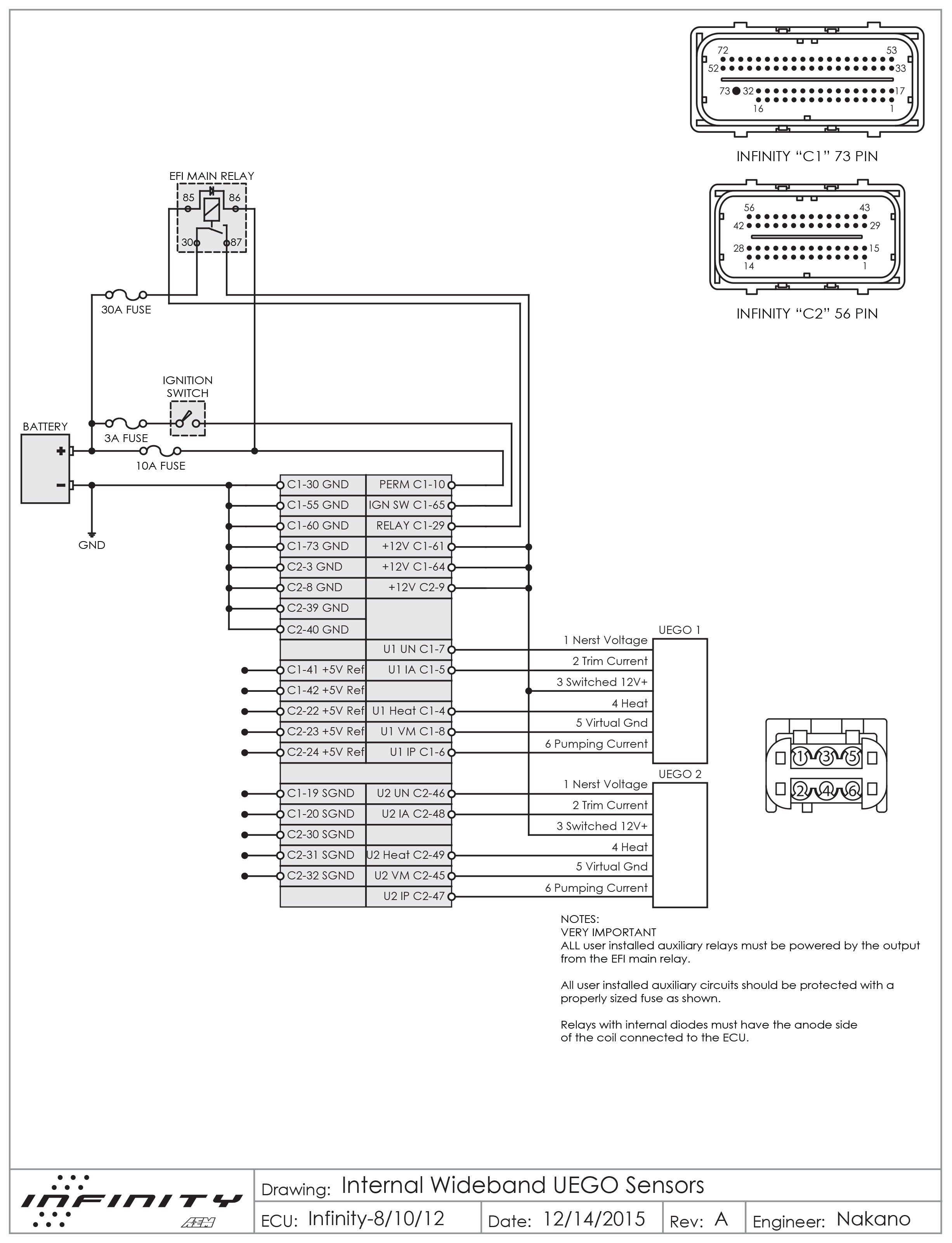 Bosch 4.2 Wiring/pinout   Aem - Aem Wideband Wiring Diagram