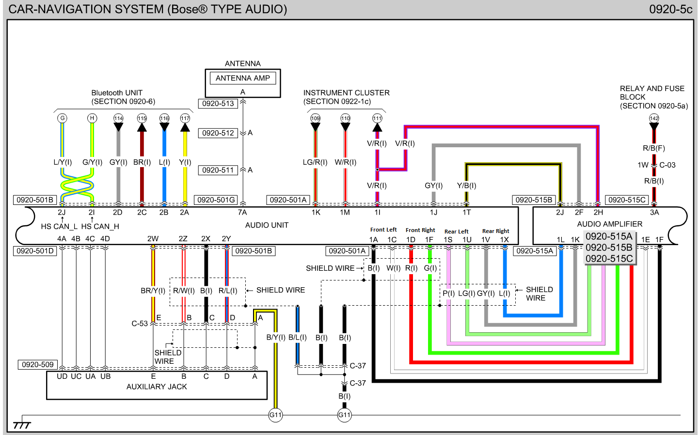 Bose Car Stereo Wiring Diagrams | Wiring Diagram - Bose Car Amplifier Wiring Diagram