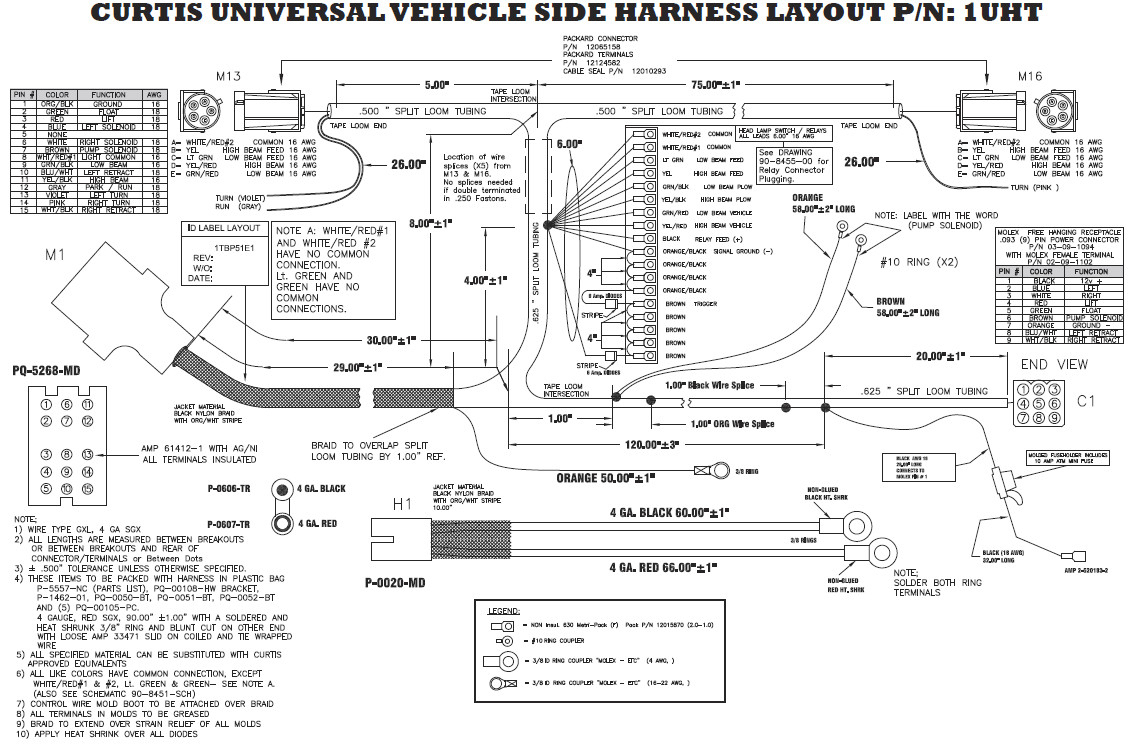 Boss 614Ua Wiring Diagram - Great Installation Of Wiring Diagram • - Boss V Plow Wiring Diagram