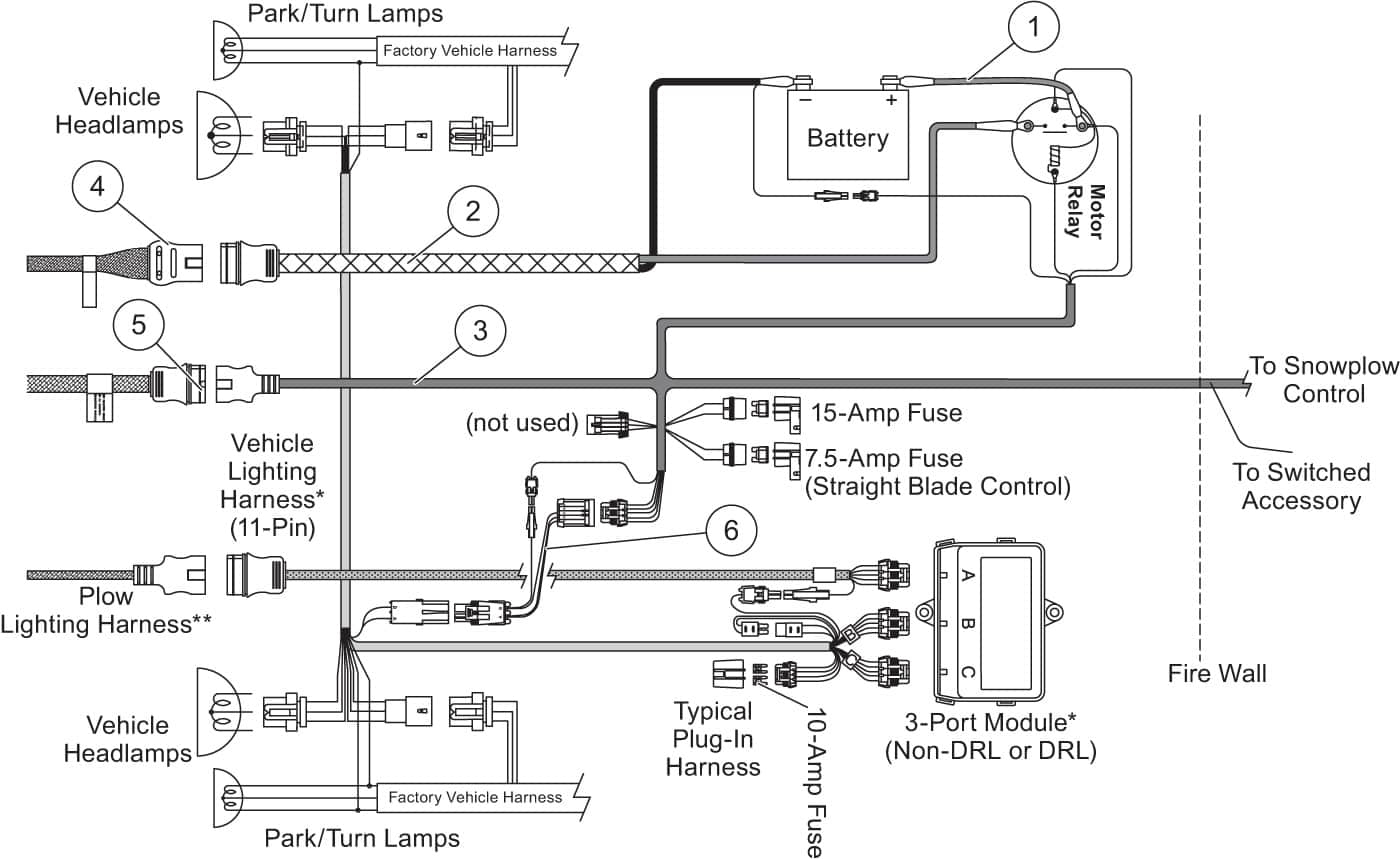 Boss Plow Wiring Diagram Reverse Light Harness