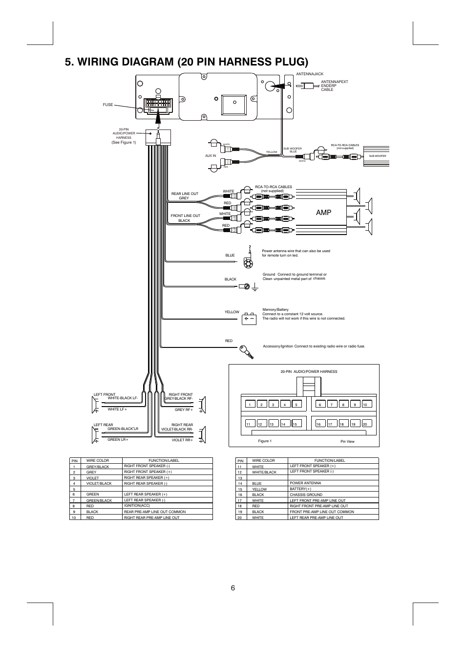 Boss 611Uab Wiring Harness Diagram from annawiringdiagram.com