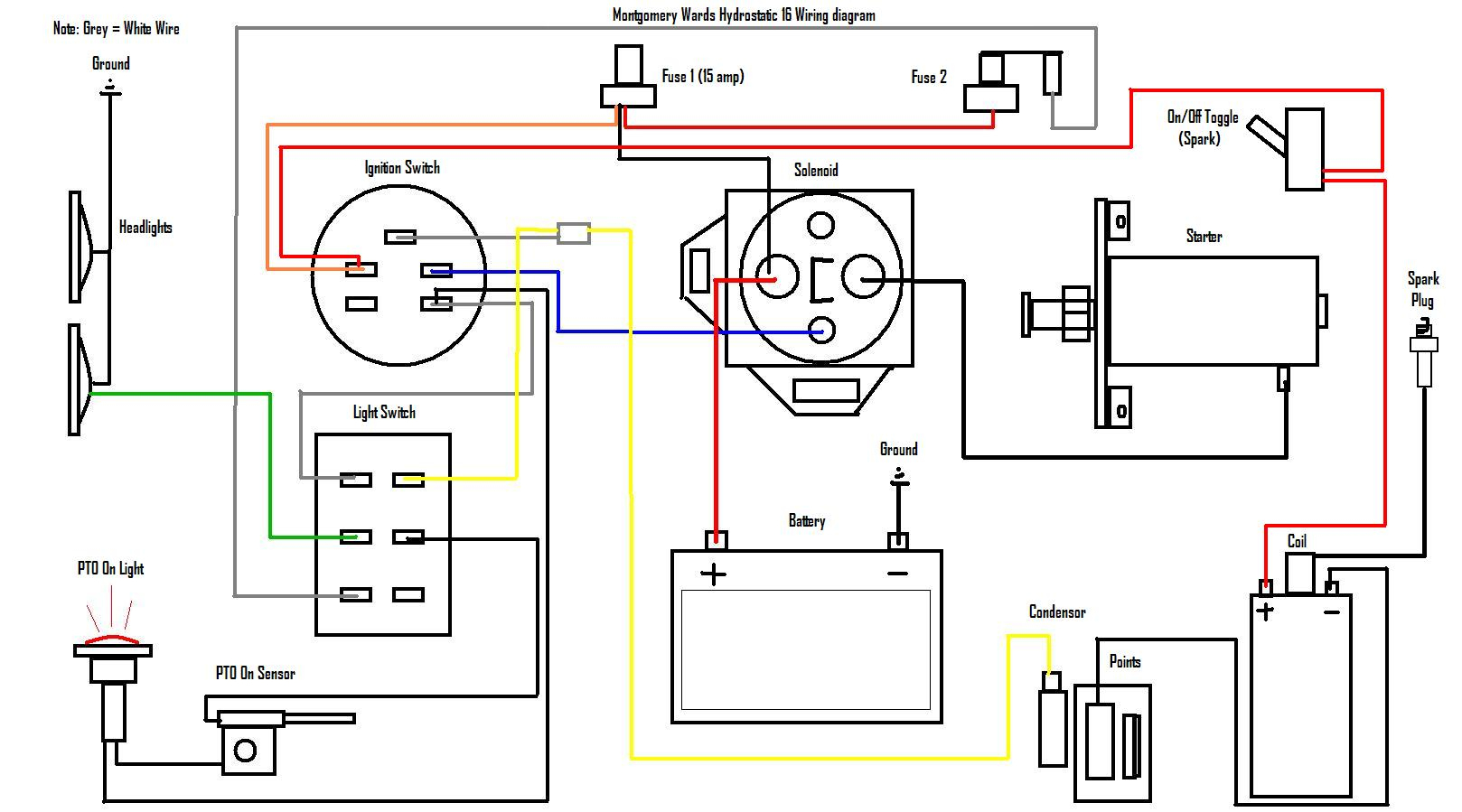 Briggs And Stratton Coil Wiring Diagram