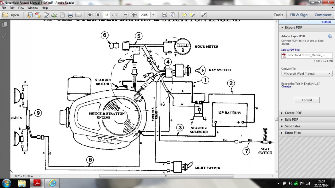 Briggs Stratton 16 Hp Twin Wiring Diagram - Wiring Data Diagram - Briggs And Stratton Wiring Diagram 16 Hp