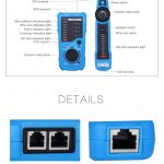 Bside Fwt11 Rj11 Rj45 Wire Tracker Tracer Telephone Ethernet Lan   Rj11 To Rj45 Wiring Diagram