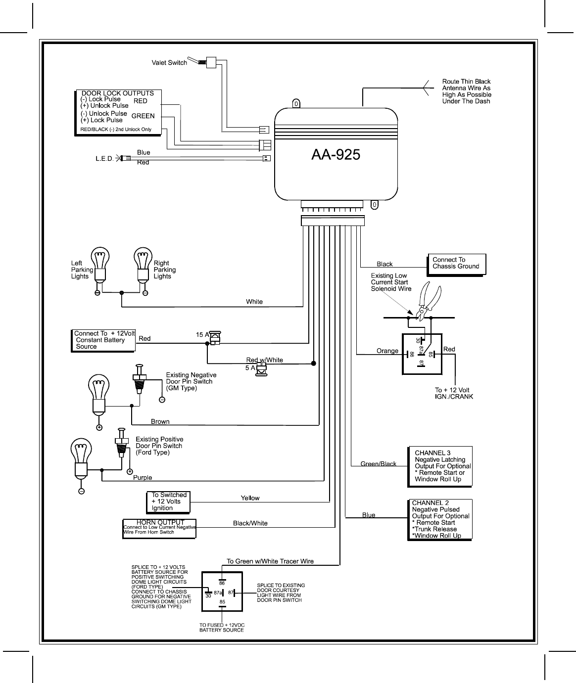 Bulldog Security Rs83B Remote Start Wiring Diagram - Wiring Diagram - Bulldog Wiring Diagram