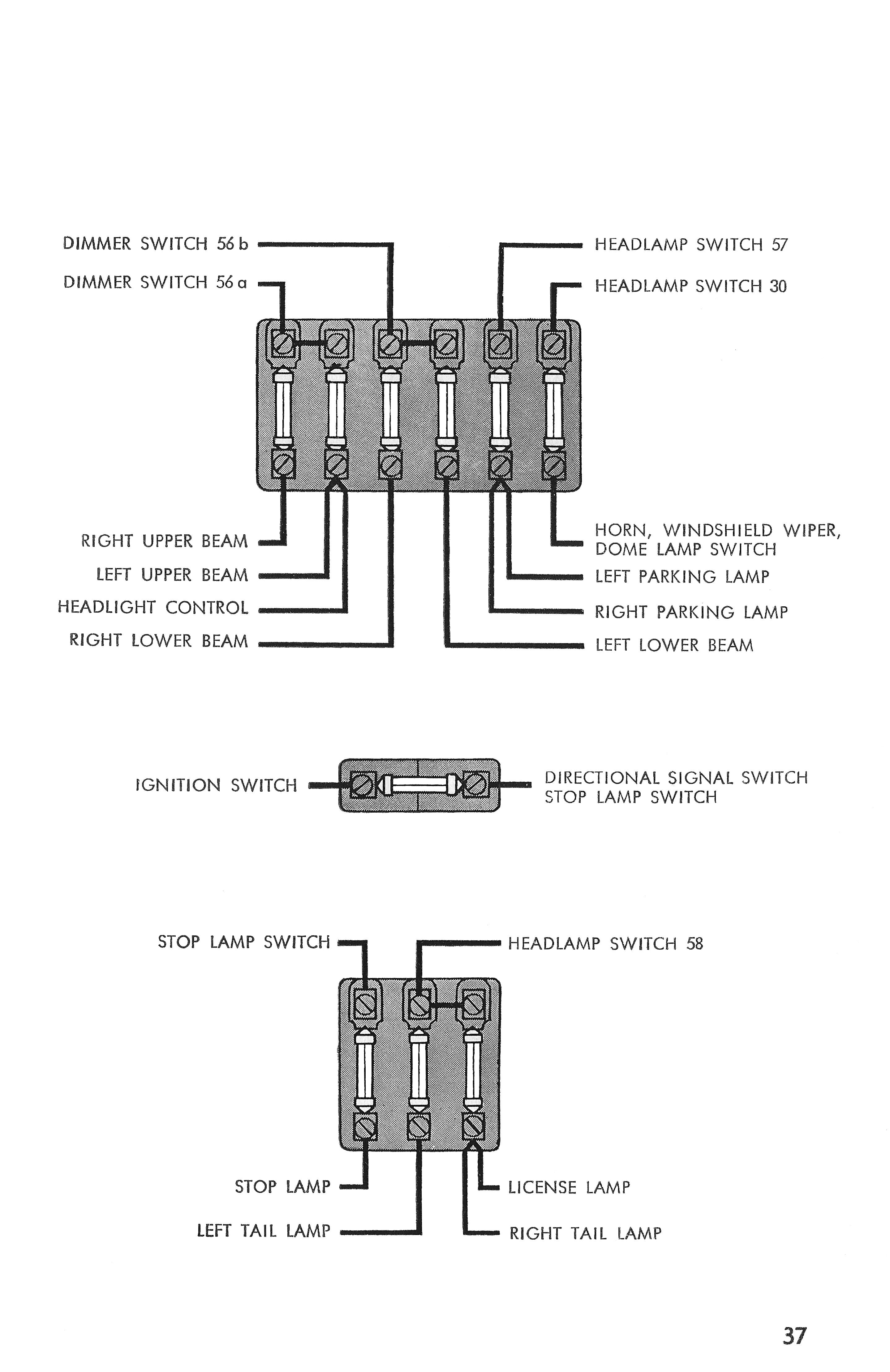 Car Dimmer Switch Wiring | Schematic Diagram - Headlight Dimmer Switch Wiring Diagram