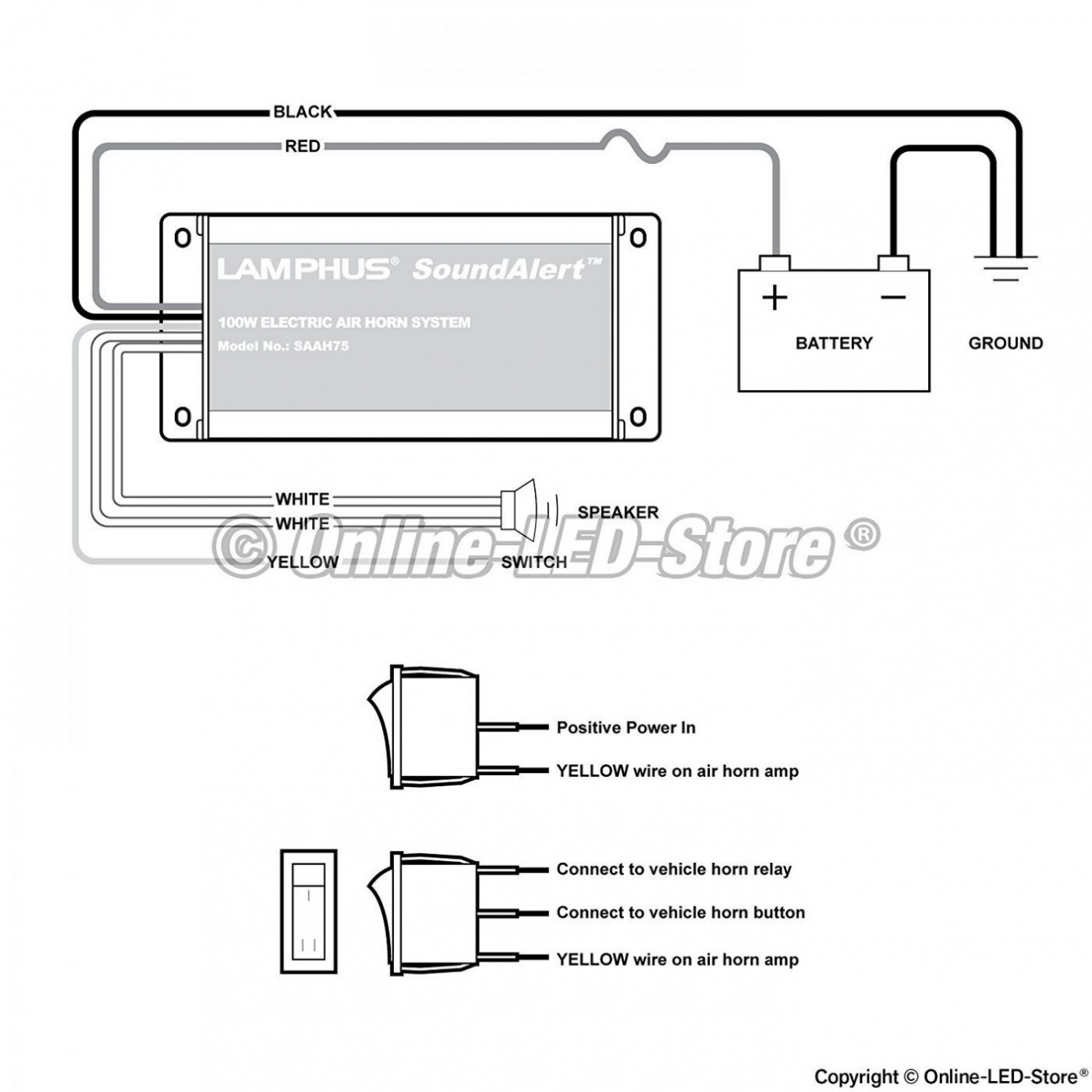 Car Horn Wire Diagram | Wiring Library - Car Horn Wiring Diagram