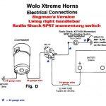 Car Horn Wiring Diagram   Manual E Books   Car Horn Wiring Diagram