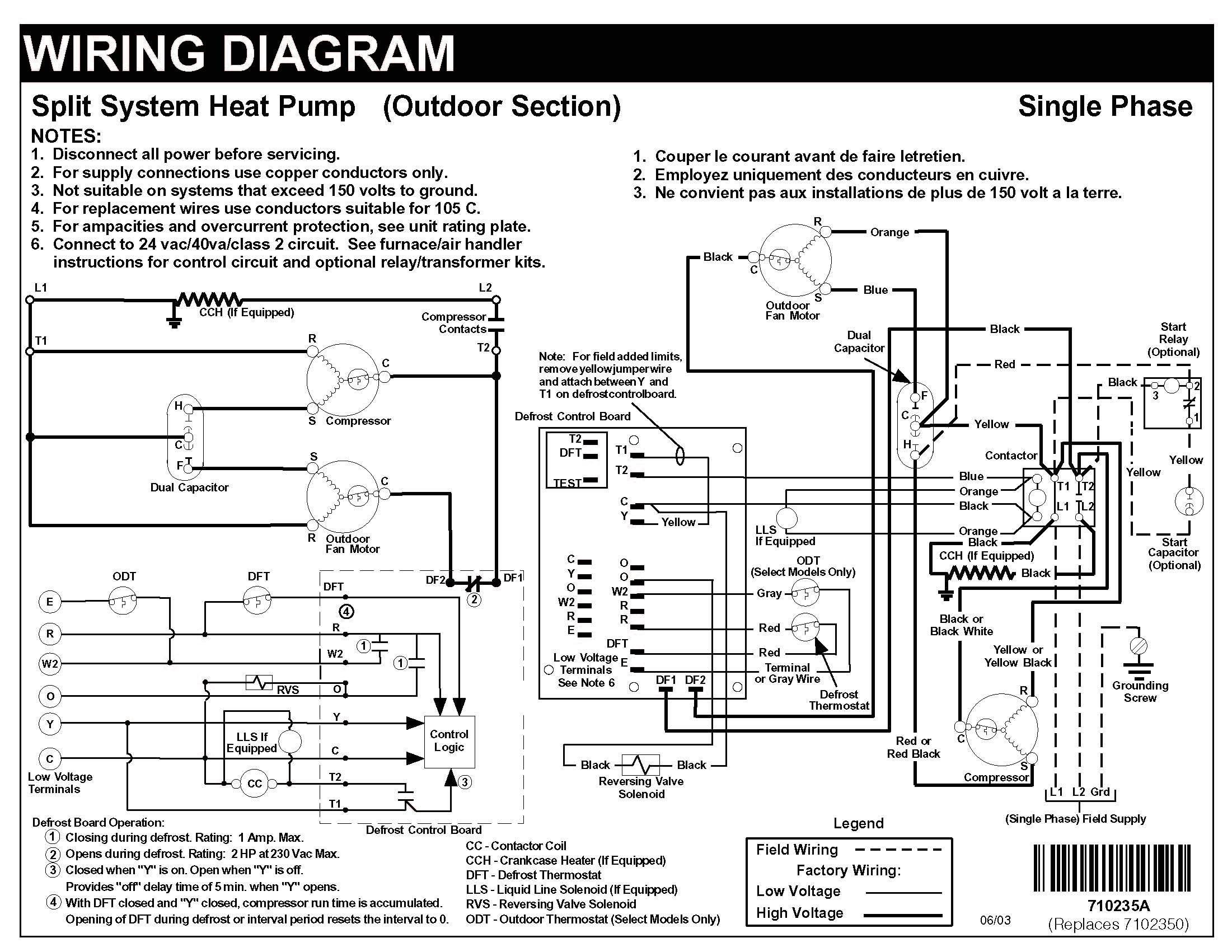 Carrier Heat Pump Wiring Schematic - Wiring Diagrams Hubs - Carrier Wiring Diagram