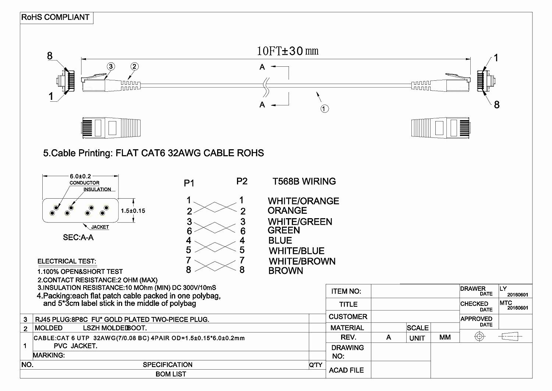 Cat 5 Wiring Diagram B Best Of Cat 5 Wiring Diagram Pdf Collection - Cat 5 Wiring Diagram Pdf