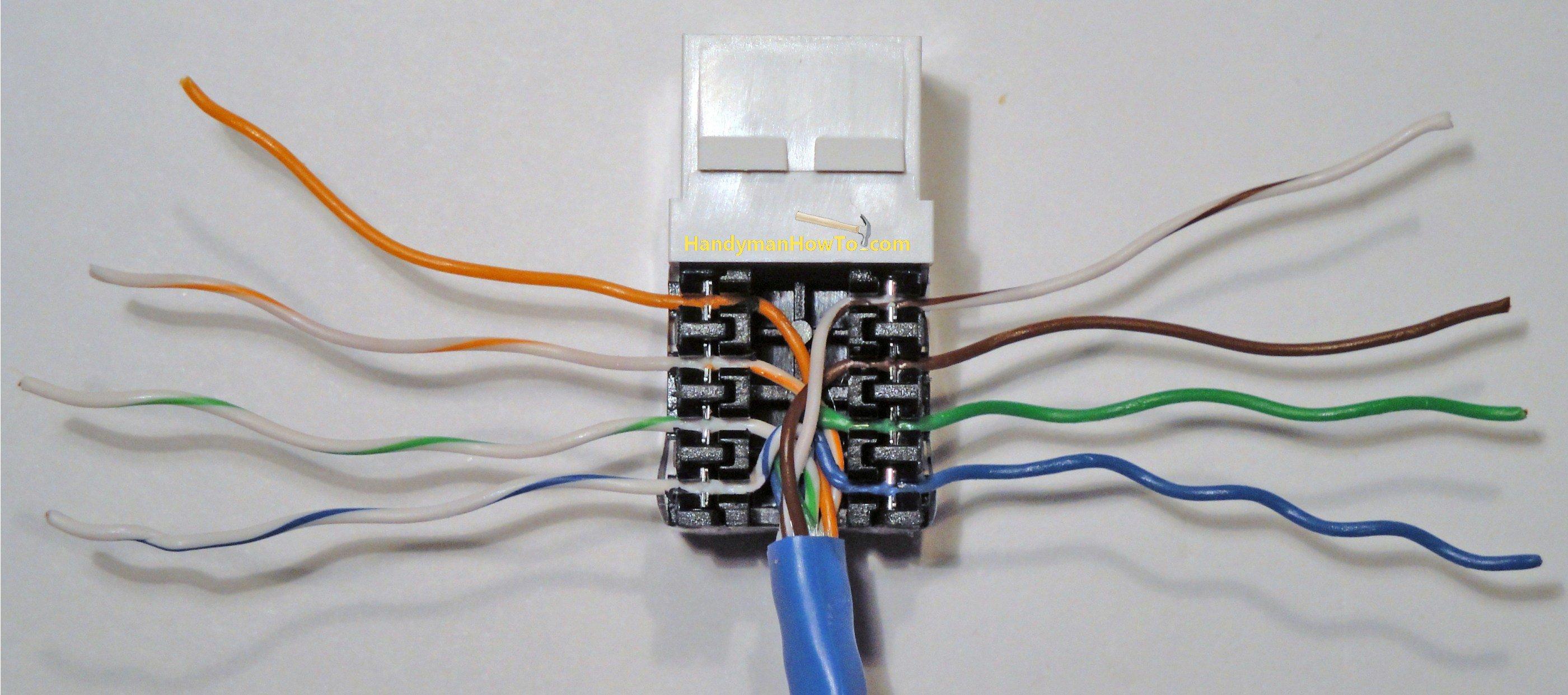 Cat5E Wiring Diagram Wall Plate | Wiring Diagram - Cat5E Wiring Diagram Wall Plate