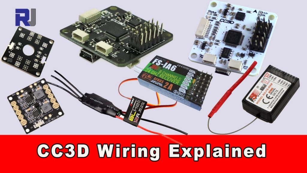 Cc3d Flight Controller Wiring Connection Explained - Youtube
