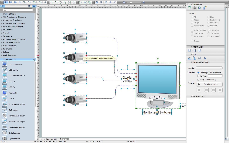 Cctv Network Software - Wiring Diagram Maker