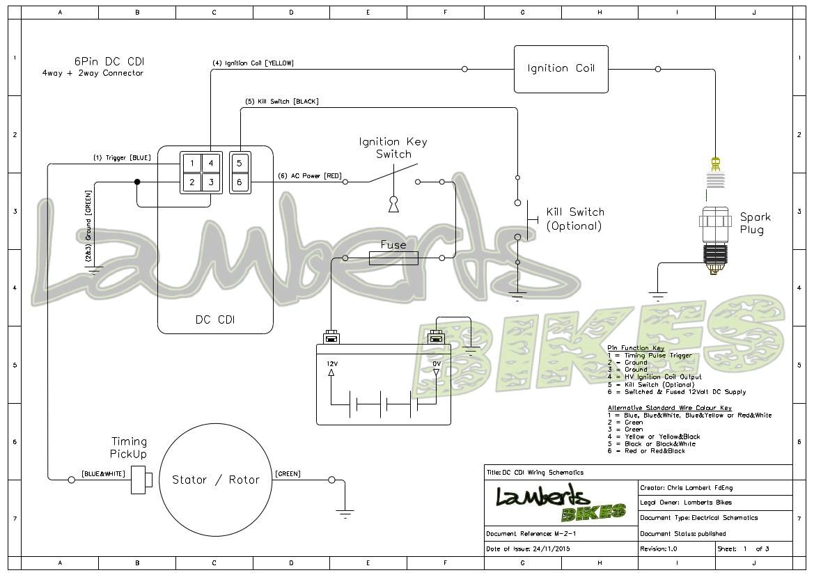 Cdi Box Wiring Diagram For Ac | Wiring Diagram - 6 Pin Cdi Box Wiring Diagram