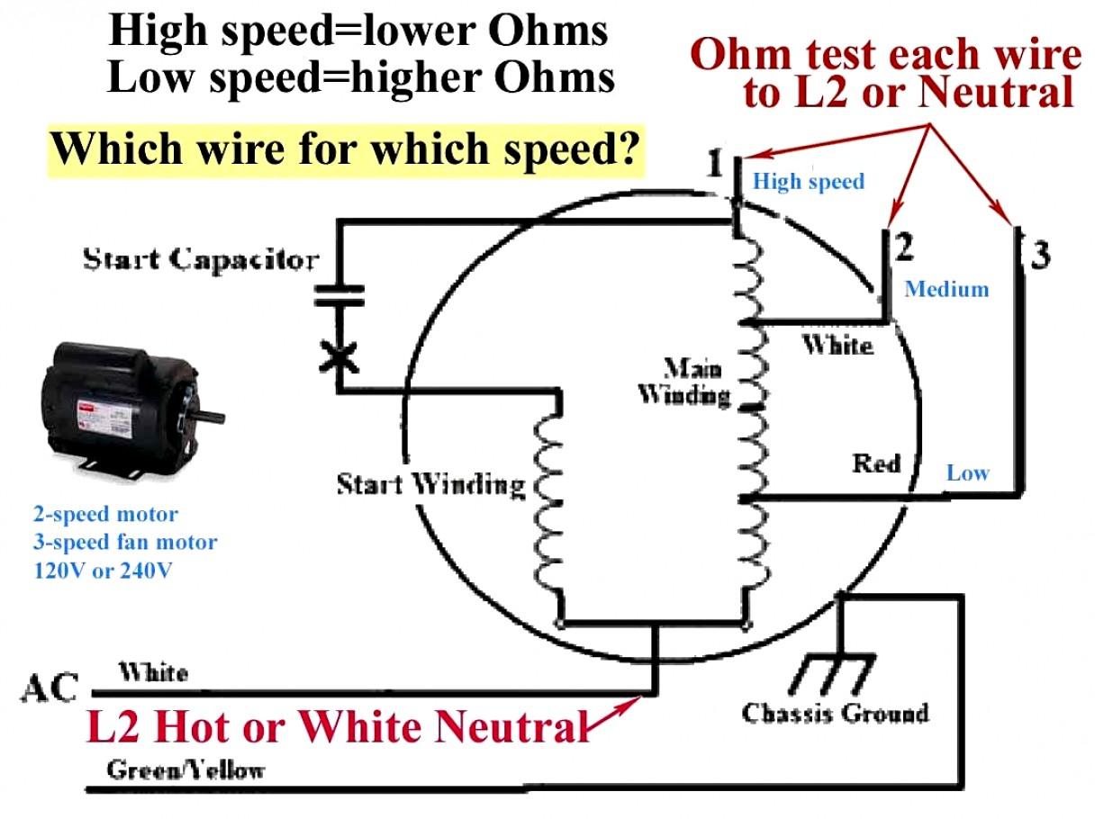 Ceiling Fan Motor Capacitor Wiring Diagram | Manual E-Books - Ceiling Fan Capacitor Wiring Diagram