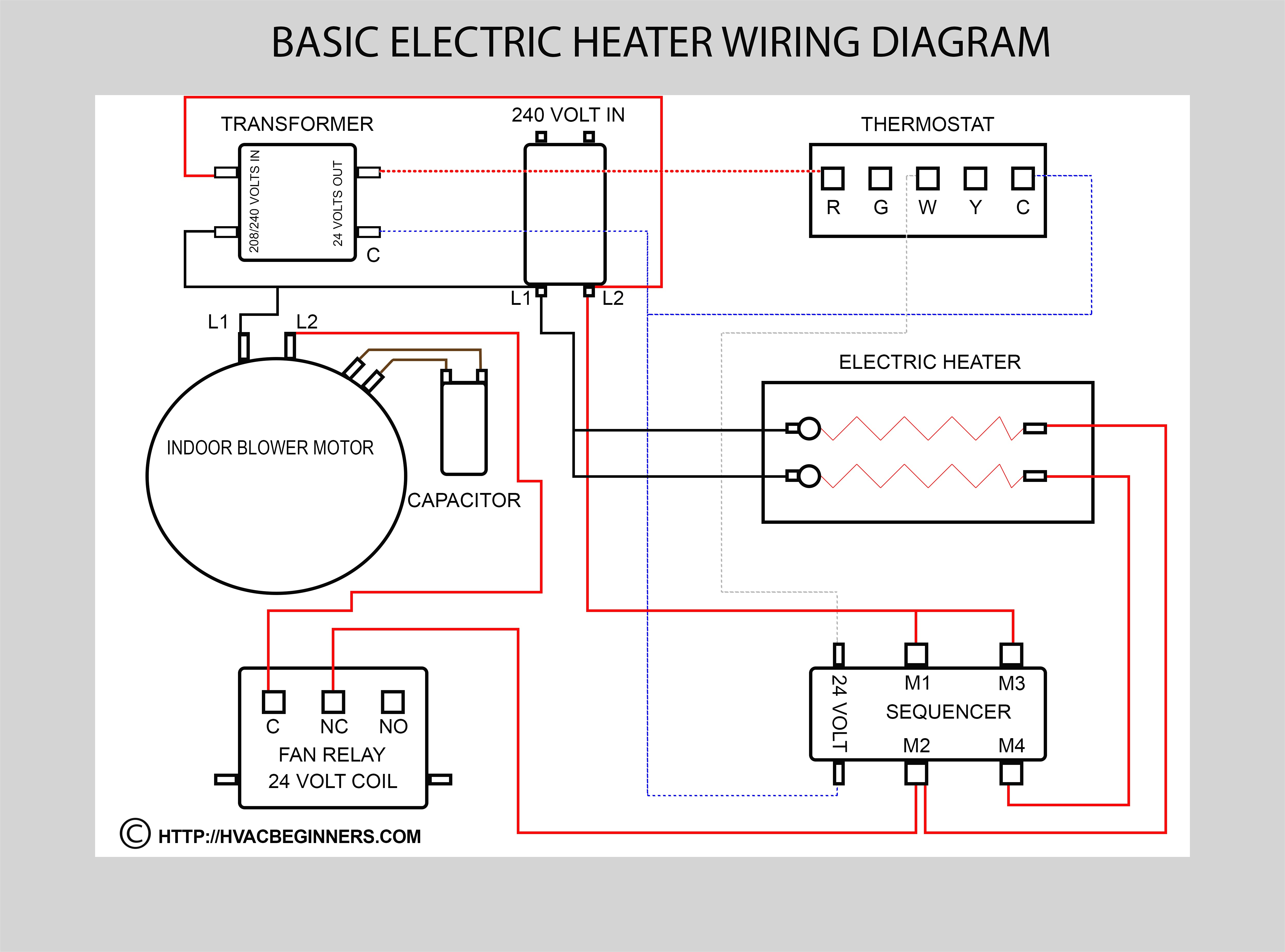 Central Air Conditioner Wiring Diagram On Split And Ac Compressor In - Central A C Wiring Diagram