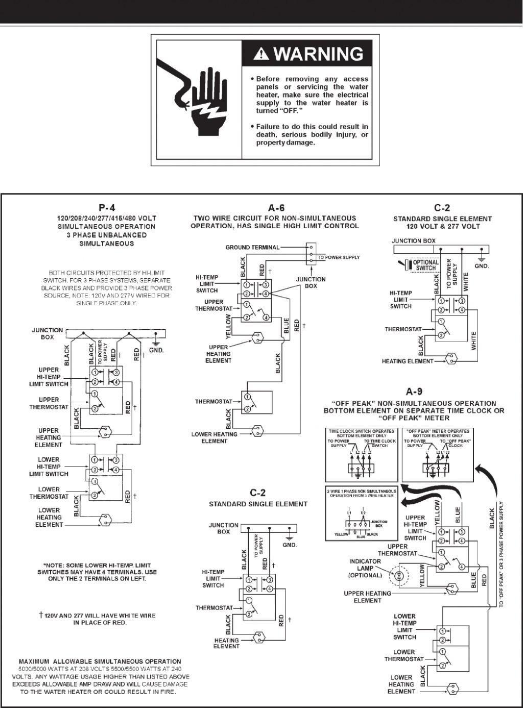 A O Smith Motors Wiring Diagram