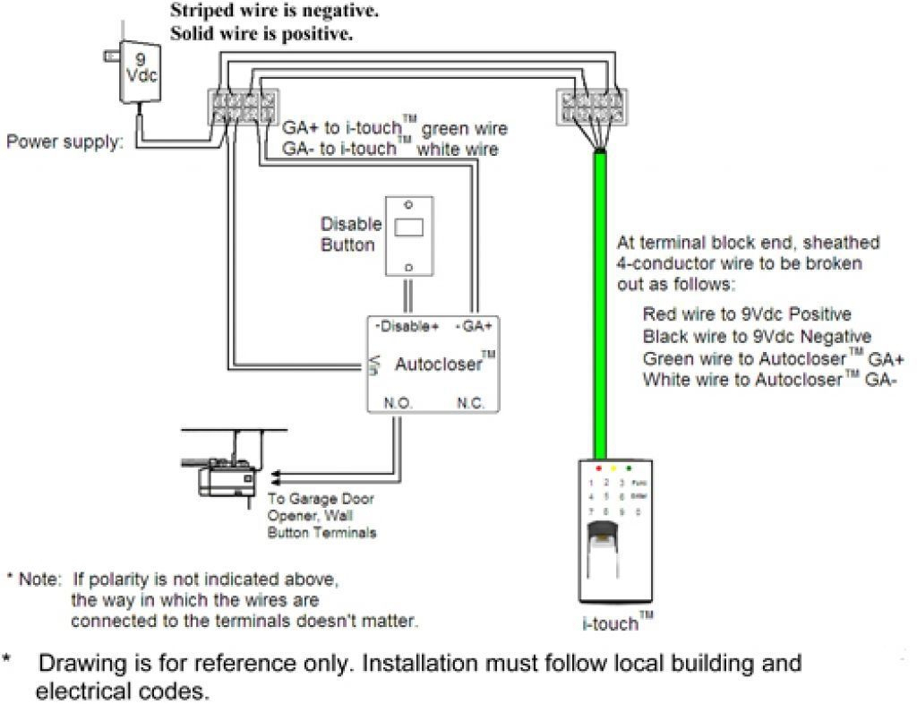 Chamberlain Garage Door Sensor Wiring Diagram Collection | Wiring - Chamberlain Garage Door Opener Wiring Diagram