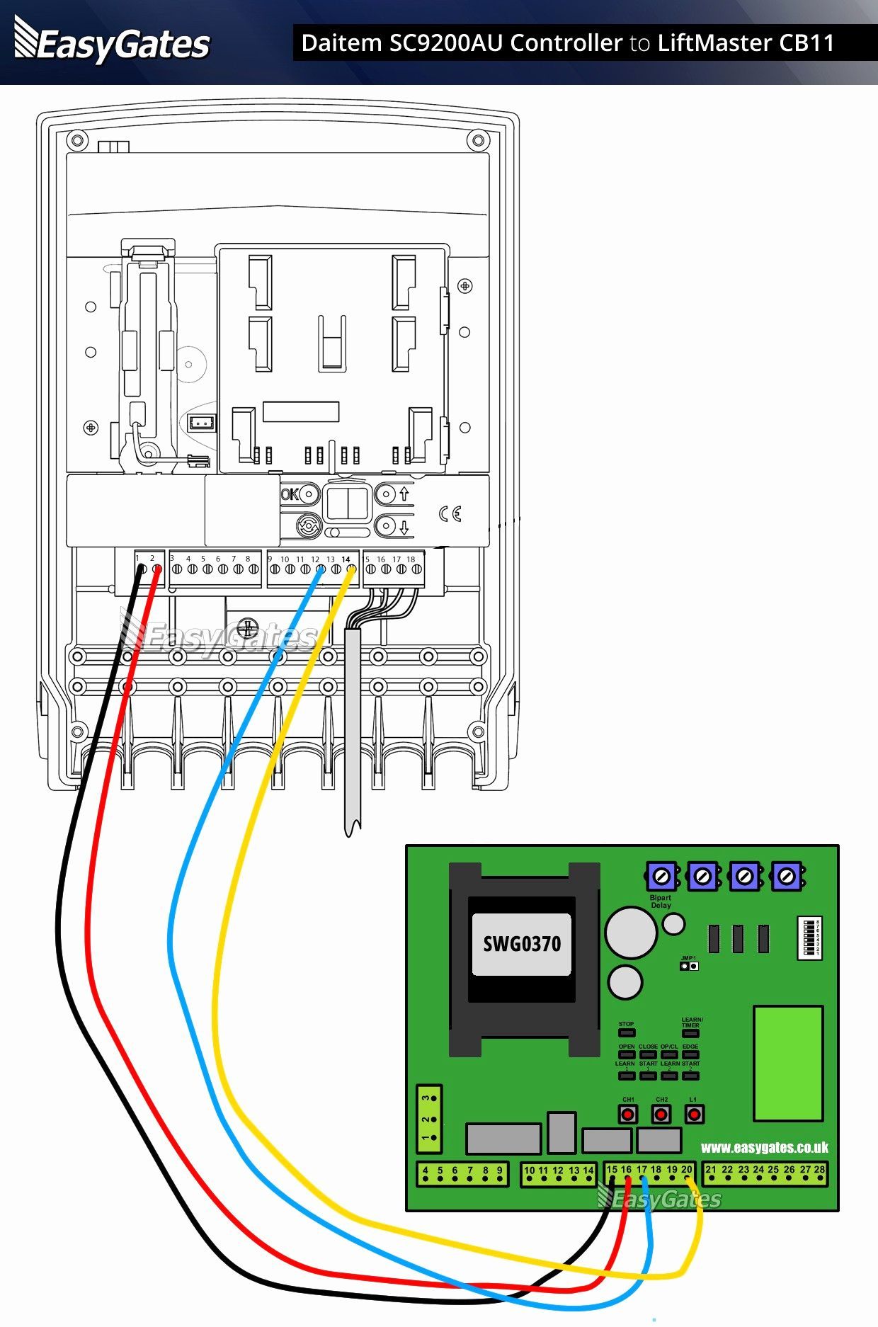 Garage Door Sensors Wiring Diagram from annawiringdiagram.com