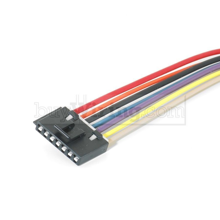 Chevrolet 7-Wire Blower Motor Resistor Harness/pigtail | Ebay - 2006 Chevy Silverado Blower Motor Resistor Wiring Diagram