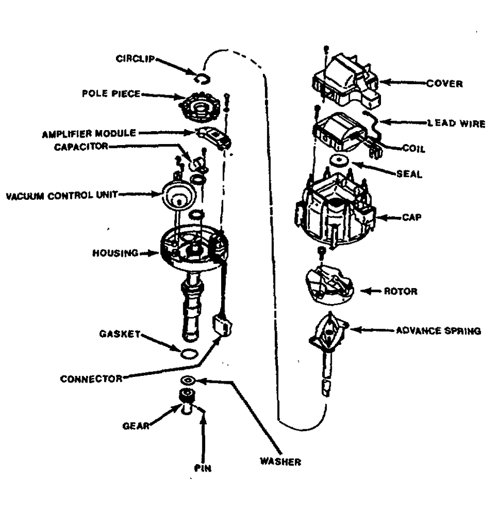 Chevrolet Hei Distributor Wiring Diagram | Hastalavista - Hei Distributor Wiring Diagram